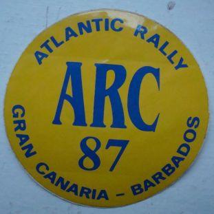 ARC'87 Sticker