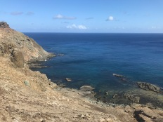 View to the S, this is where our trip continued towards the Canary Islands
